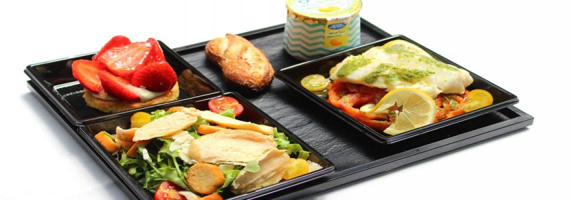 Livraison de plateaux-repas à Paris